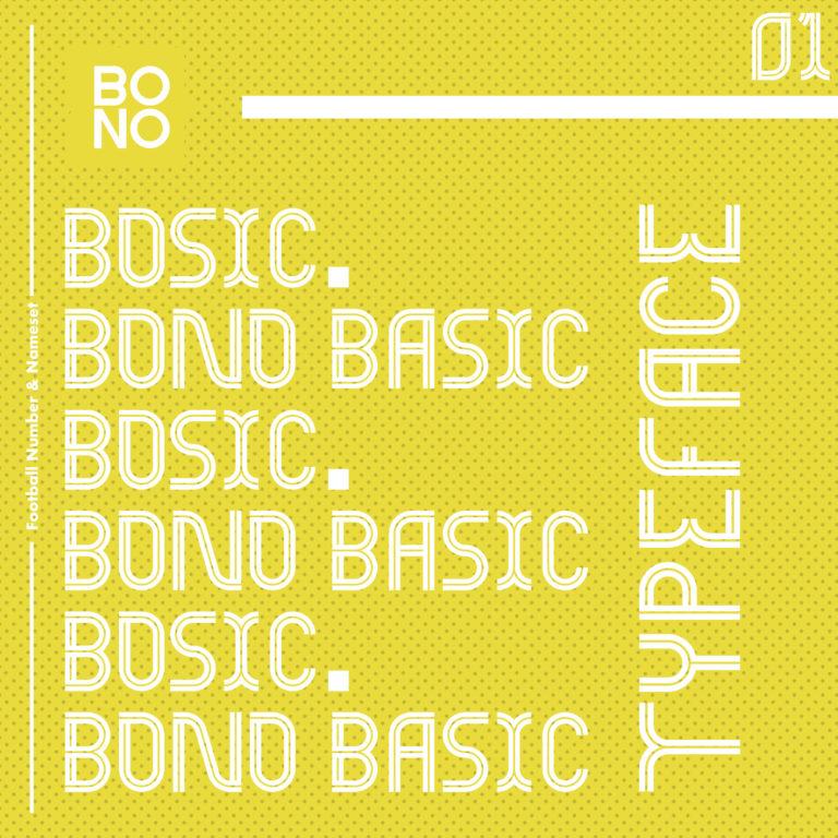 BOSIC 1.0 Font by Bono Studio