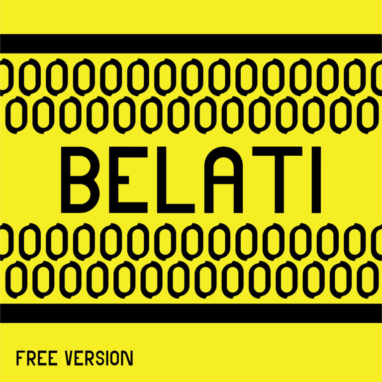 Belati Font by Bono Studio FREE Edition